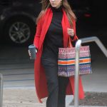 Jessica Alba Attends a Meeting in Los Angeles 03/01/2018-2