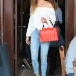 Joanna Krupa Arrives at Il Pastaio Restaurant in Beverly Hills 03/23/2018-2