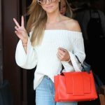 Joanna Krupa Arrives at Il Pastaio Restaurant in Beverly Hills 03/23/2018-3