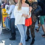 Joanna Krupa Arrives at Il Pastaio Restaurant in Beverly Hills 03/23/2018-5