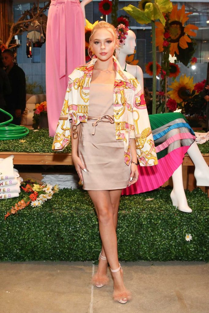 Jordyn Jones at the Milly Loves Fred Segal Pop-Up Launch Party in Los Angeles 03/27/2018-1