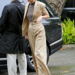 Kendall Jenner Arrives at the Khloe Kardashian's Baby Shower in Bel Air 03/10/2018-2
