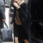 Kendall Jenner Leaves from Her Hotel in Snowstorm in Paris 03/19/2018-3