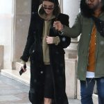 Kendall Jenner Leaves from Her Hotel in Snowstorm in Paris 03/19/2018-4