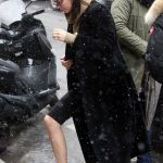 Kendall Jenner Leaves from Her Hotel in Snowstorm in Paris 03/19/2018-5