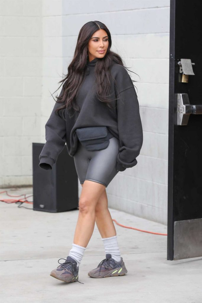 Kim Kardashian Helped Officially Open the Watts Empowerment Center in Los Angeles 03/16/2018-1