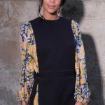 Laura Harrier at the Louis Vuitton Show During the Paris Fashion Week in Paris 03/06/2018-2