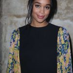 Laura Harrier at the Louis Vuitton Show During the Paris Fashion Week in Paris 03/06/2018-3