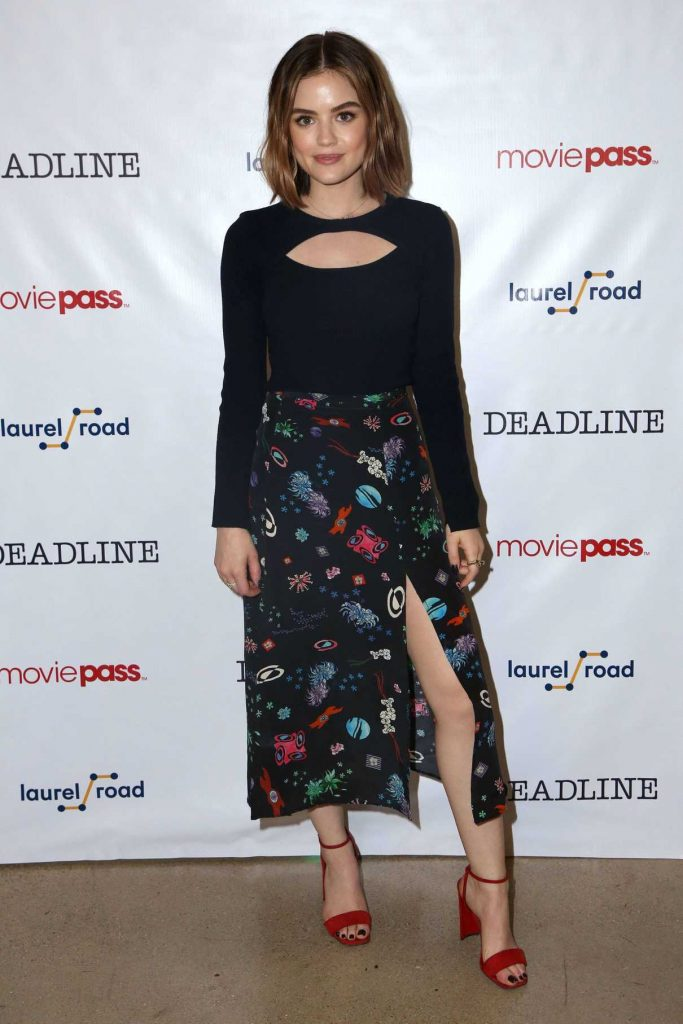 Lucy Hale at the Deadline Studio During 2018 SXSW Festival in Austin 03/10/2018-1