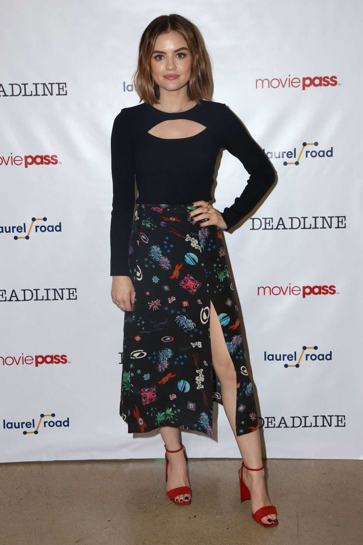 Lucy Hale at the Deadline Studio During 2018 SXSW Festival in Austin 03/10/2018-2