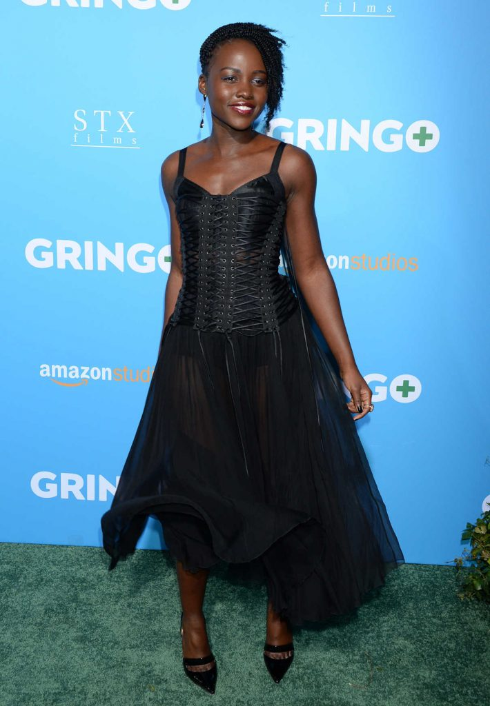 Lupita Nyong'o at Gringo Premiere in Los Angeles 03/06/2018-1