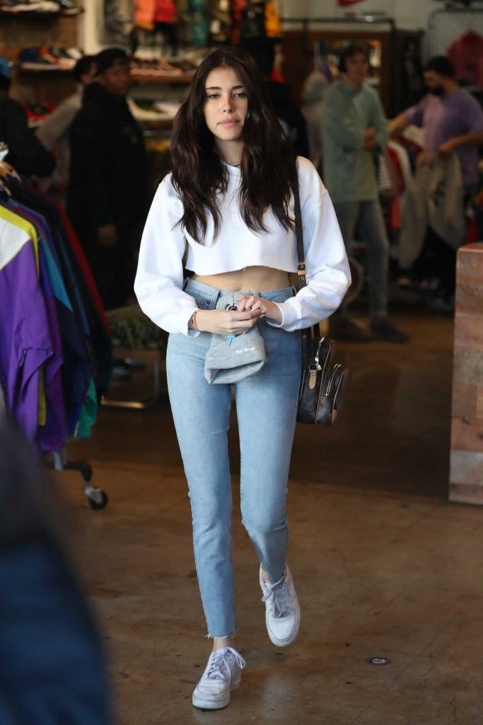 Madison Beer Goes Shopping at Round Two in Los Angeles 02/28/2018-1