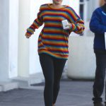 Miley Cyrus Goes to Party City in Porter Ranch 03/01/2018-3