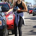 Olivia Wilde Leaves the Tracy Anderson Gym in Studio City 03/06/2018-5