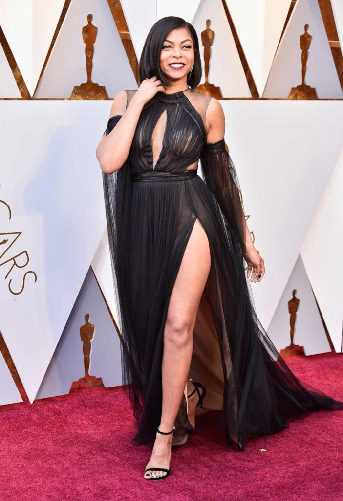 Taraji P. Henson at the 90th Annual Academy Awards in Los Angeles 03/04/2018-1