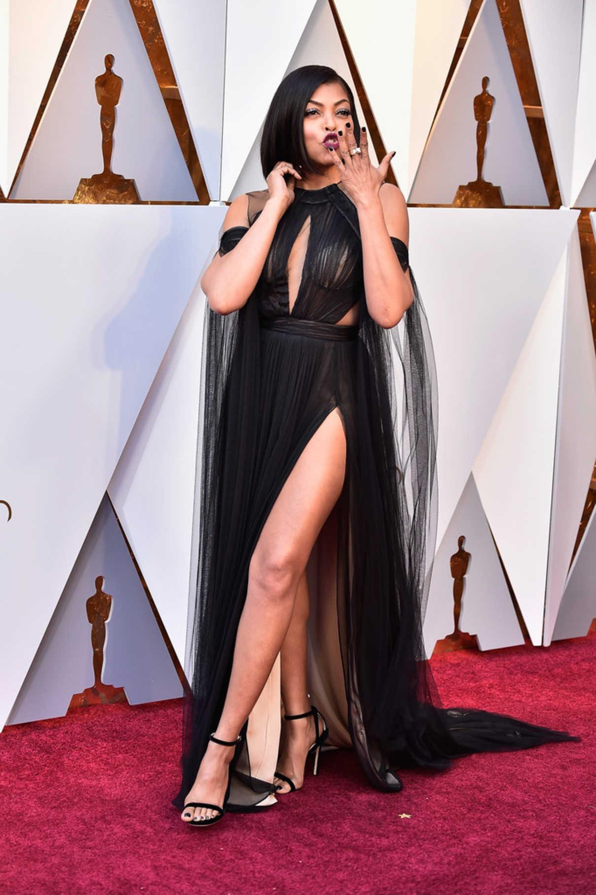 Taraji P. Henson at the 90th Annual Academy Awards in Los Angeles 03/04/2018-3