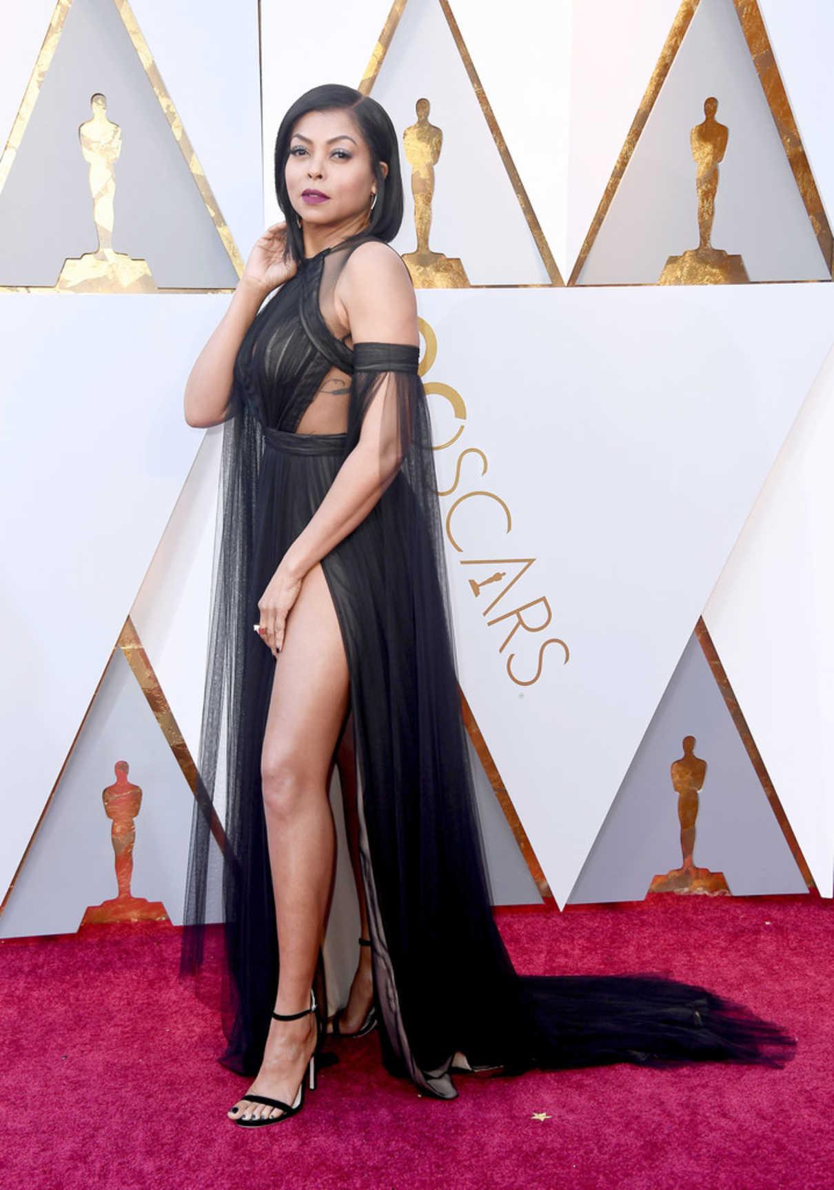 Taraji P. Henson at the 90th Annual Academy Awards in Los Angeles 03/04/2018-4