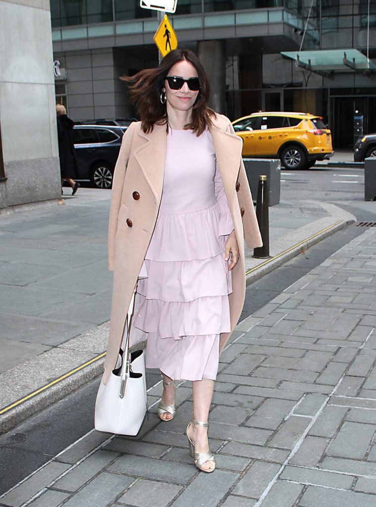 Abigail Spencer Visits The Today Show in NYC 04/03/2018-1