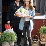 Alessandra Ambrosio Grabs Some Flowers for Easter with a Mystery Man in Los Angeles 03/31/2018-2