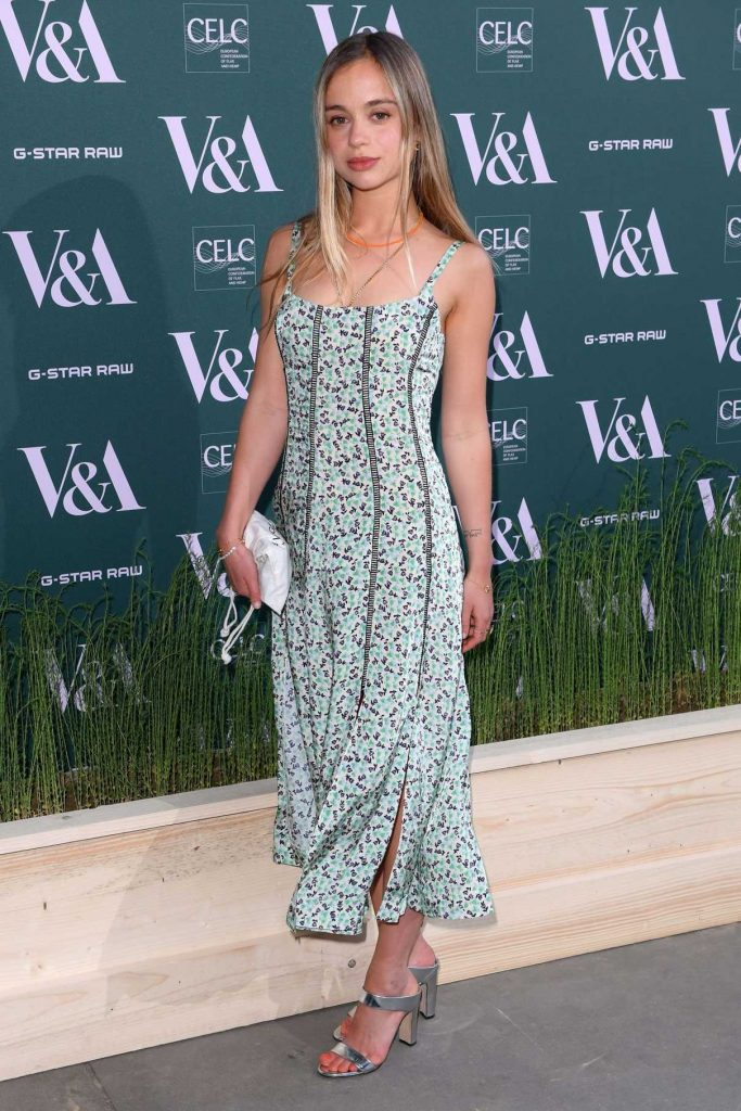 Amelia Windsor at the Fashioned for Nature Exhibition VIP Preview in London 04/18/2018-1