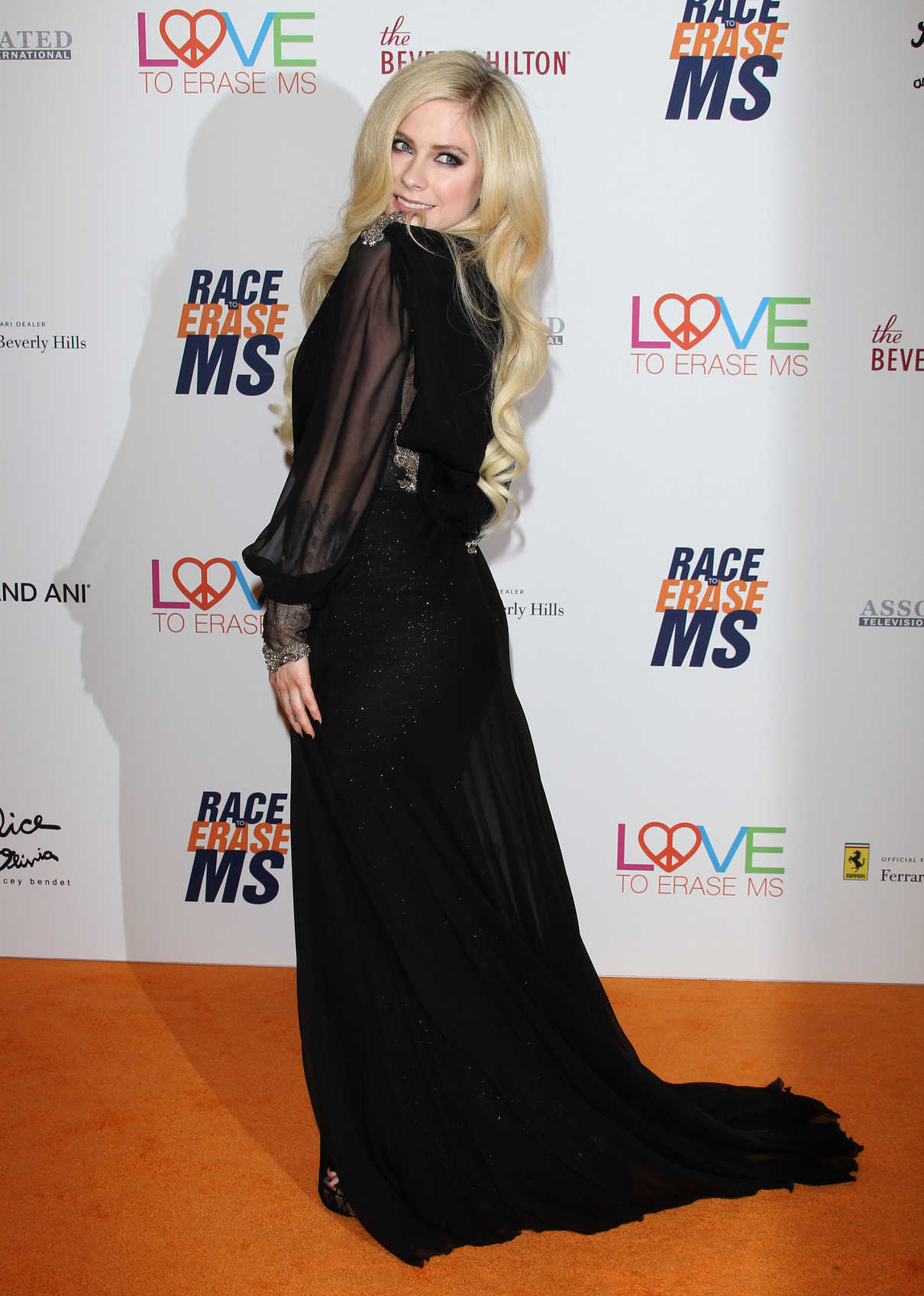 Avril Lavigne at the 25th Annual Race To Erase MS Gala in Beverly Hills 04/20/2018-4