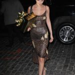 Bella Hadid Attends Gigi Hadid's Birthday Party at One Hotel in Brooklyn, New York 04/23/2018-3
