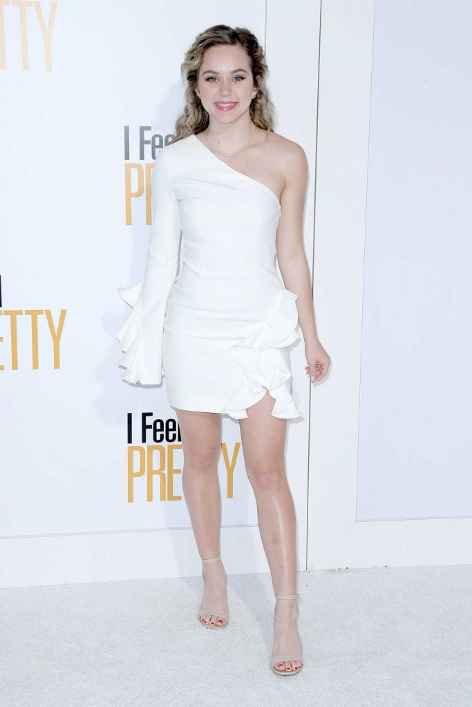 Brec Bassinger at I Feel Pretty Premiere in Los Angeles 04/17/2018-1