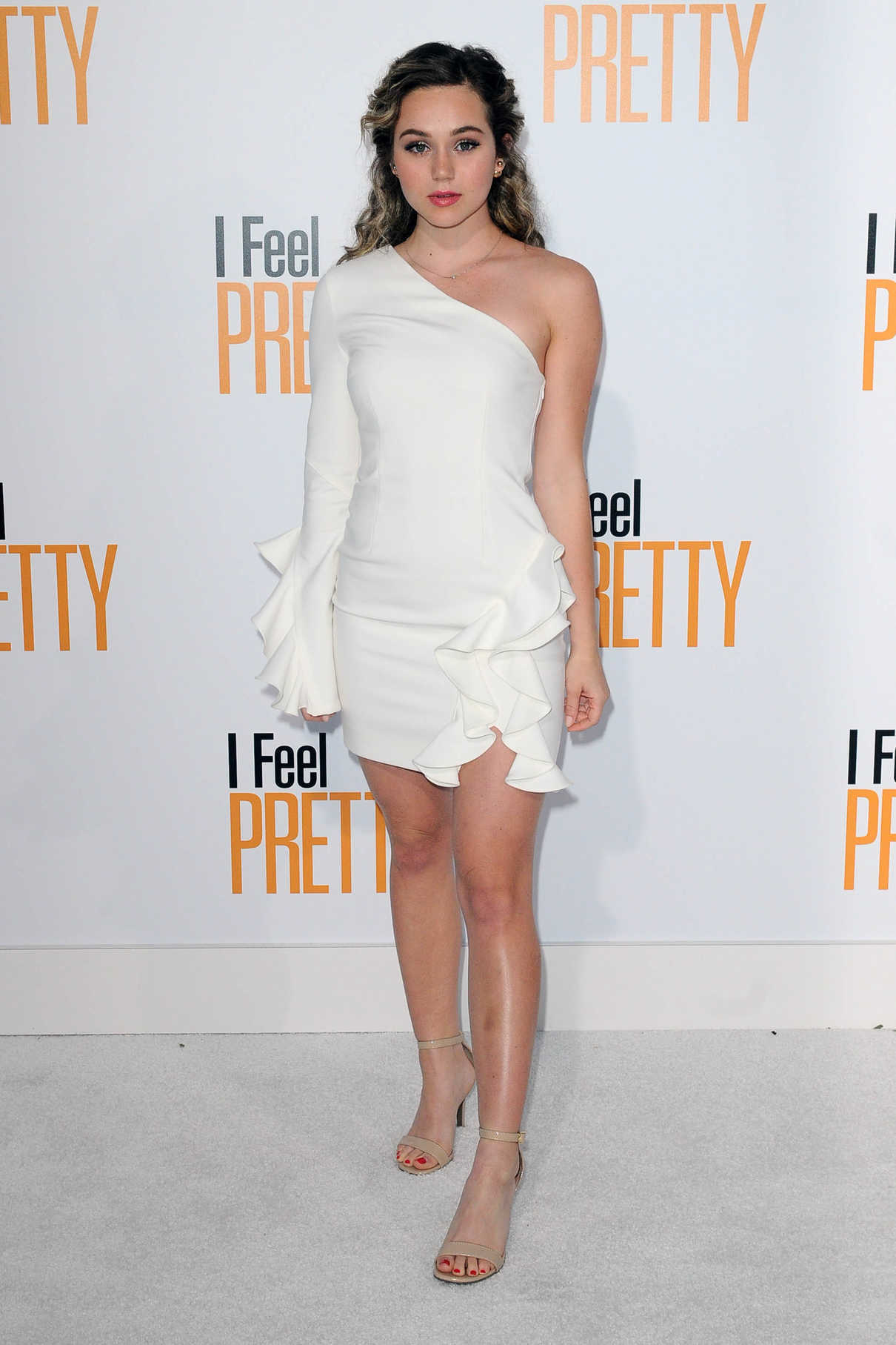 Brec Bassinger at I Feel Pretty Premiere in Los Angeles 04/17/2018-2