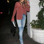 Charlotte McKinney Leaves a Party in West Hollywood 04/04/2018-2