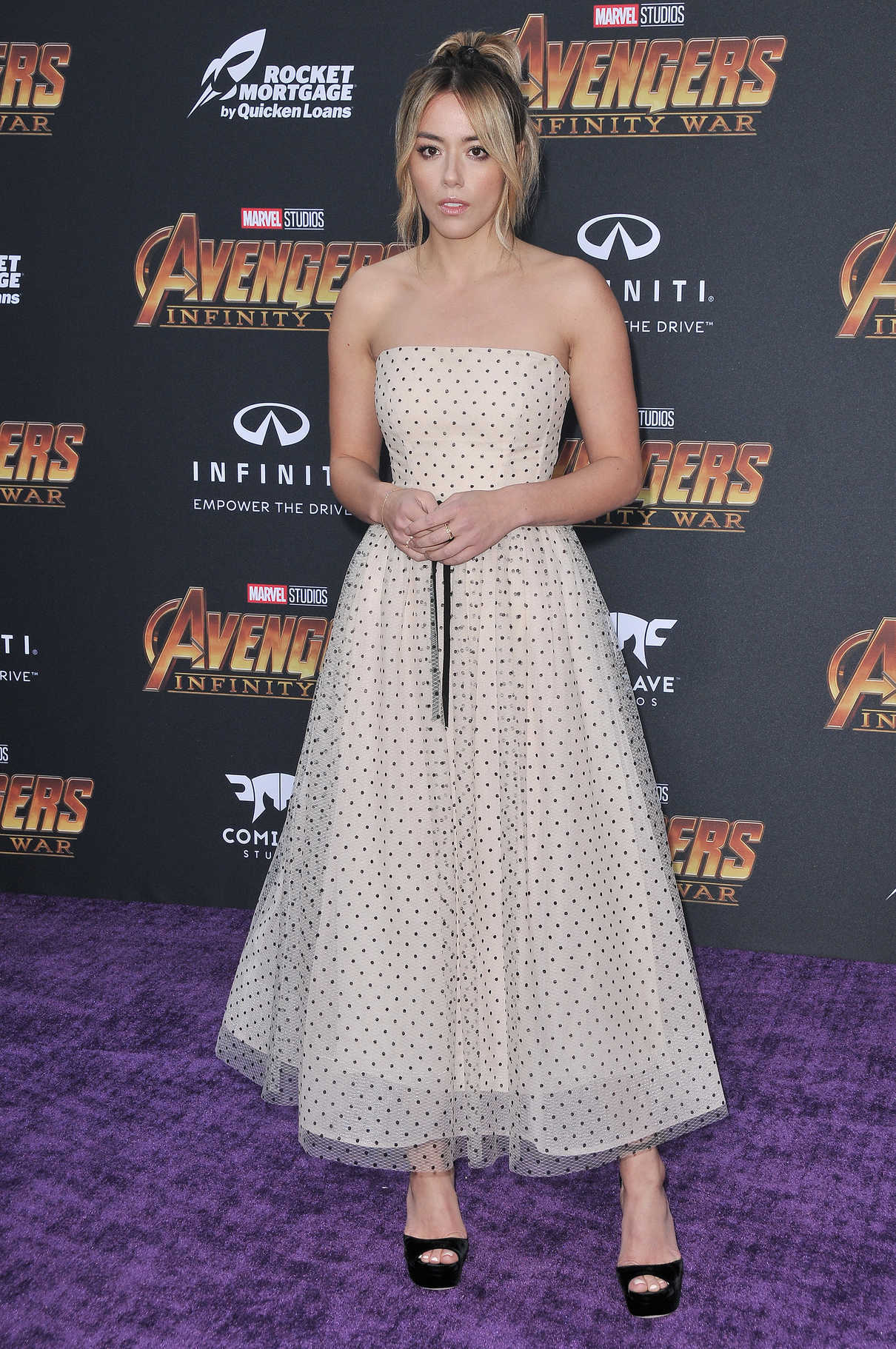 Chloe Bennet at Avengers: Infinity War Premiere in Los Angeles 04/23/2018-2