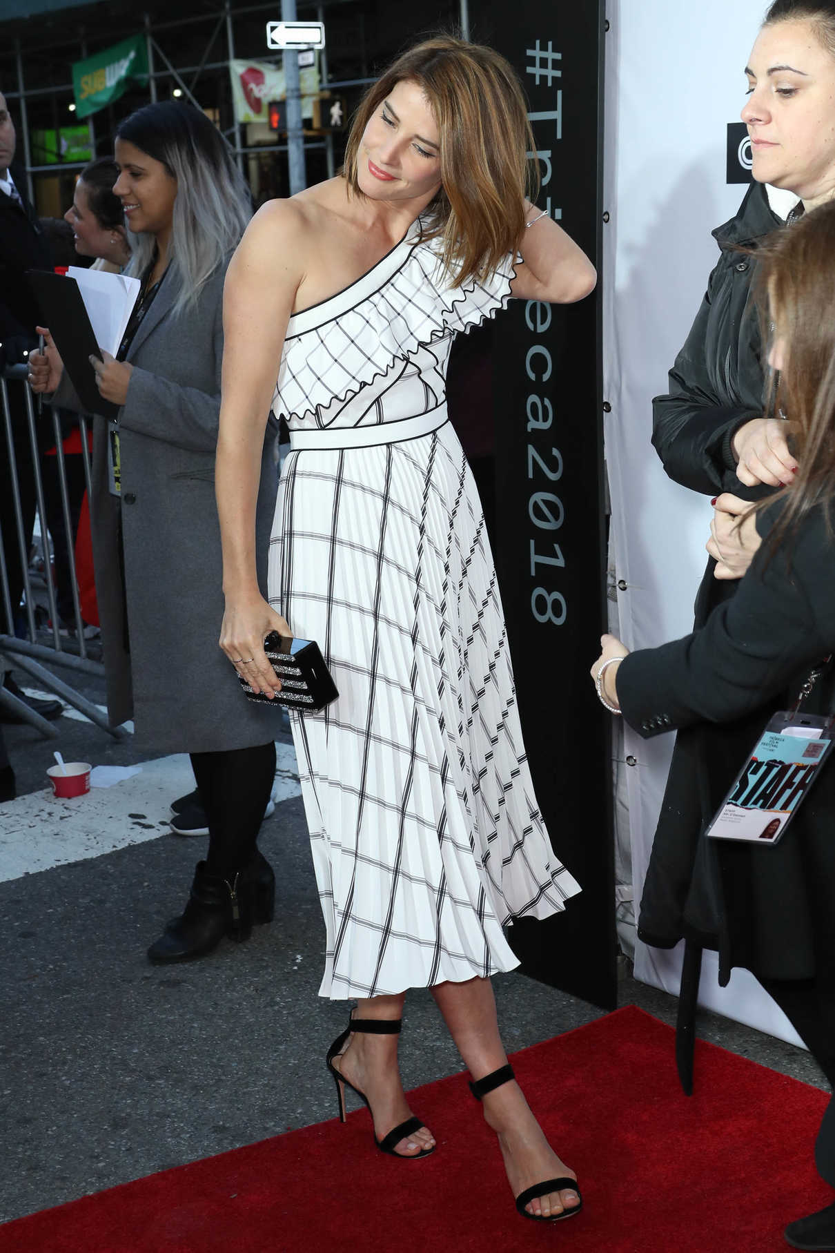 Cobie Smulders at the Love, Gilda Premiere During the Tribeca Film Festival in New York 04/18/2018-2