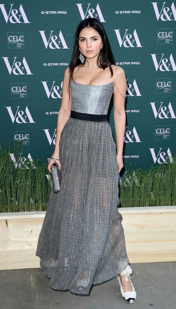 Doina Ciobanu at the Fashioned for Nature Exhibition VIP Preview in London 04/18/2018-1