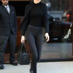 Gigi Hadid Wears All Black Out in NYC 04/11/2018-3