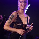 Halsey at YSL Beauty Festival in Palm Springs 04/12/2018-5