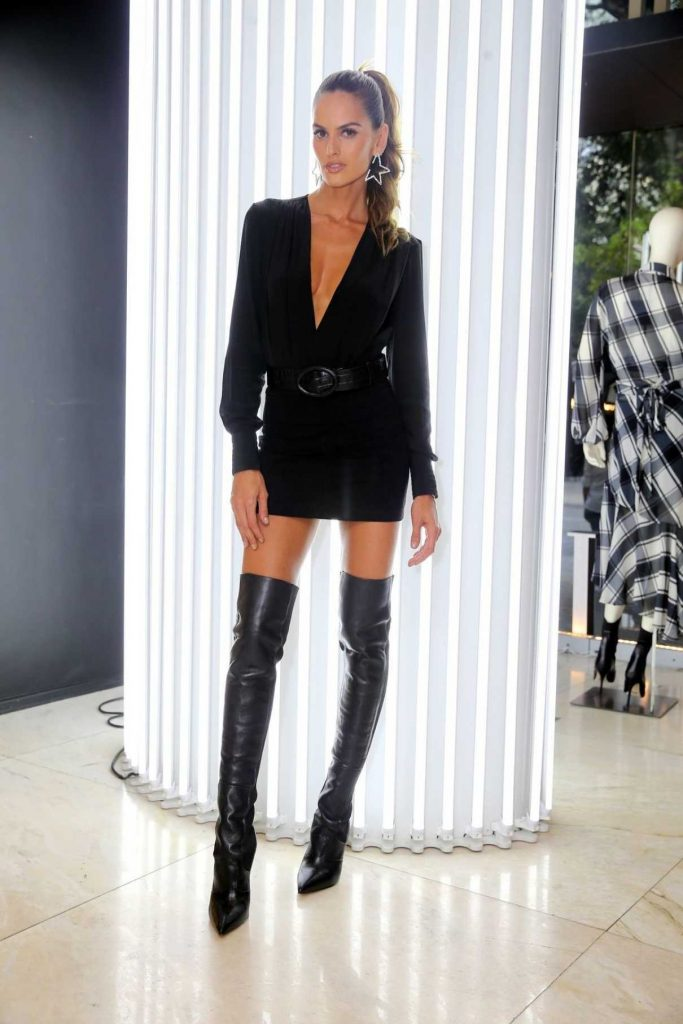 Izabel Goulart at the Blanc Store Opening in Sao Paulo 04/06/2018-1