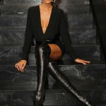 Izabel Goulart at the Blanc Store Opening in Sao Paulo 04/06/2018-2