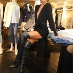 Izabel Goulart at the Blanc Store Opening in Sao Paulo 04/06/2018-4