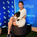 Jamie Chung at the American Express Experience in New York 04/09/2018-2