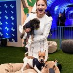 Jamie Chung at the American Express Experience in New York 04/09/2018-5