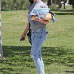 Jennifer Garner Arrives at Baseball Game in Brentwood 04/21/2018-2