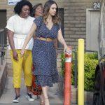 Jessica Alba Visits Her Pals in Santa Monica 04/21/2018-5