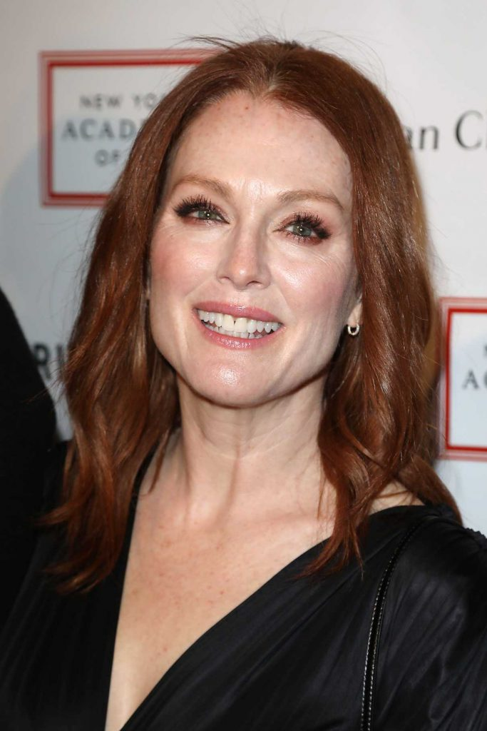 Julianne Moore at 2018 TriBeCa Ball at New York Academy of Art in New York City 04/09/2018-1