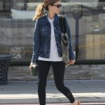 Kate Mara Hits the Gym with a Friend in Los Angeles 04/01/2018-3