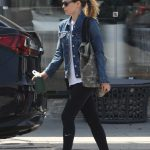 Kate Mara Hits the Gym with a Friend in Los Angeles 04/01/2018-4