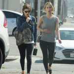 Kate Mara Hits the Gym with a Friend in Los Angeles 04/01/2018-5
