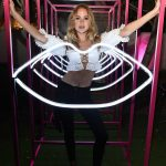 Kimberley Garner at YSL Beauty Festival in Palm Springs 04/12/2018-4