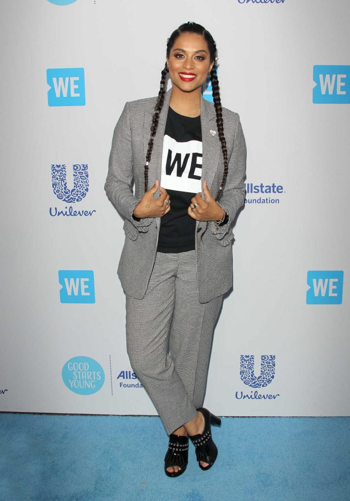 Lilly Singh at WE Day California in Los Angeles 04/19/2018-1