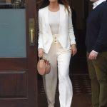 Lily Aldridge Leaves Her Hotel in New York City 04/24/2018