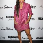 Logan Browning at the 5th Annual Marie Claire Fresh Faces Party in Los Angeles 04/27/2018-3