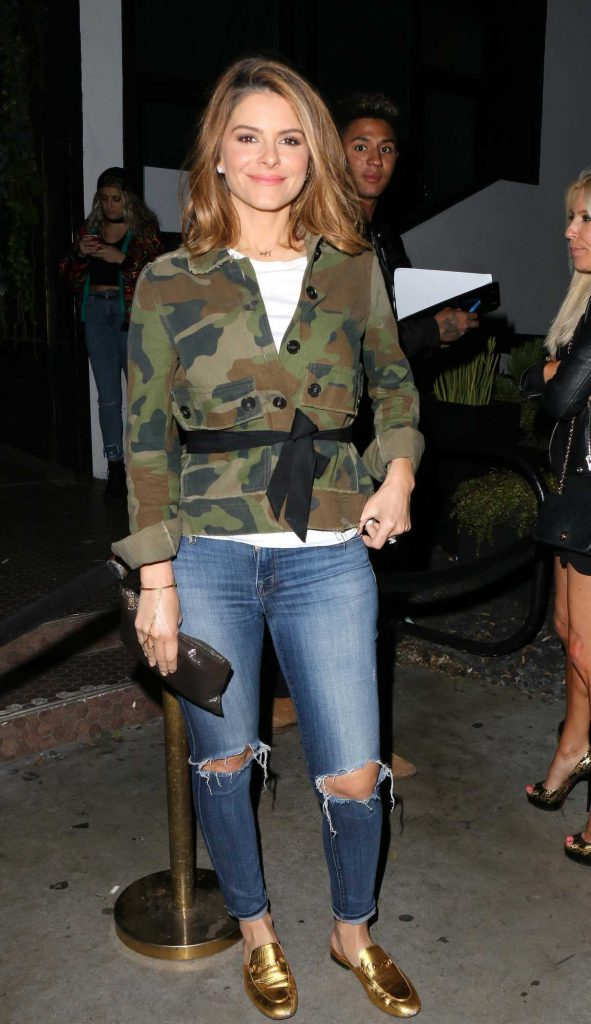 Maria Menounos Arrives at Poppy Nightclub in Los Angeles 04/18/2018-1